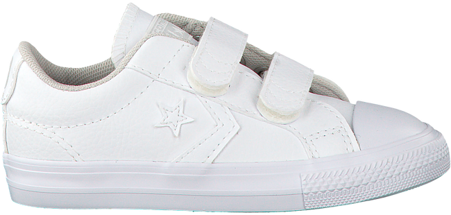 Weiße CONVERSE Sneaker STAR PLAYER EV 2V OX KIDS - large