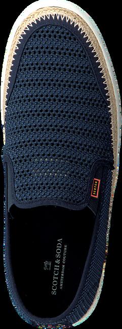 Blaue SCOTCH & SODA Slip-on Sneaker IZOMI  - large