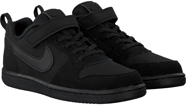 Schwarze NIKE Sneaker COURT BOROUGH LOW (KIDS) - large