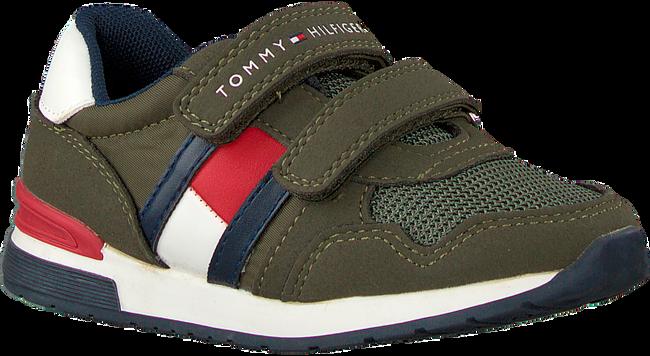 Grüne TOMMY HILFIGER Sneaker low LOW CUT VELCRO SNEAKER  - large