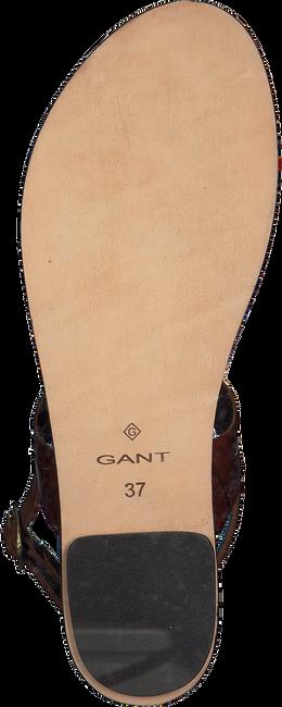 Cognacfarbene GANT Sandalen BEECHUM  - large