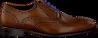 Cognacfarbene FLORIS VAN BOMMEL Business Schuhe 19470 - medium