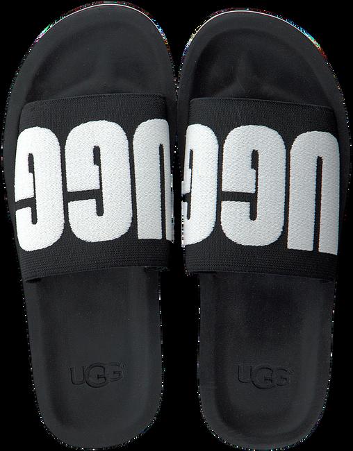 Schwarze UGG Pantolette ZUMA GRAPHIC  - large