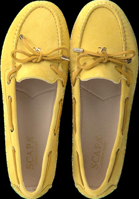 Gelbe SCAPA Mokassins 21/455CR  - large