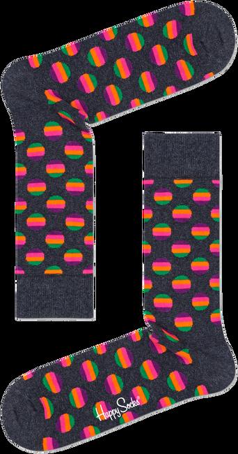 Weiße HAPPY SOCKS Socken SUNRISE DOT SOCK  - large