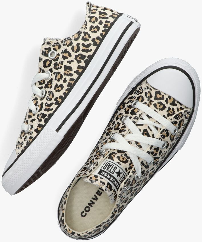Beige CONVERSE Sneaker CHUCK TAYLOR OX KIDS  - larger