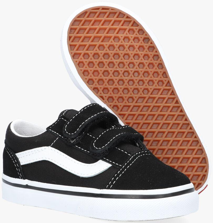 Schwarze VANS Sneaker TD OLD SKOOL V BLACK  - larger
