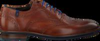 Cognacfarbene FLORIS VAN BOMMEL Business Schuhe 19048  - medium