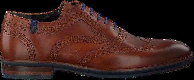 Cognacfarbene FLORIS VAN BOMMEL Business Schuhe 19048  - large