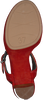 Rote UNISA Sandalen VIKEN  - small
