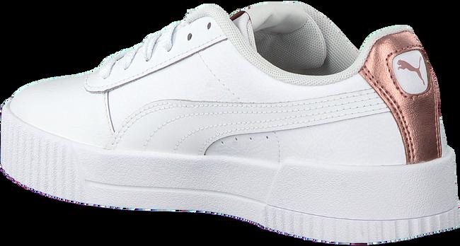 Weiße PUMA Sneaker low CARINA L  - large