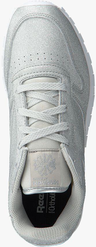 Silberne REEBOK Sneaker CL LEATHER KIDS - larger