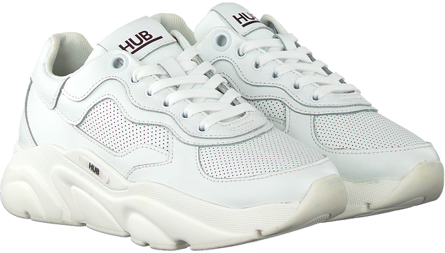 Weiße HUB Sneaker low ROCK L46  - large