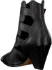 Schwarze LOLA CRUZ Stiefeletten 294T10BK  - small