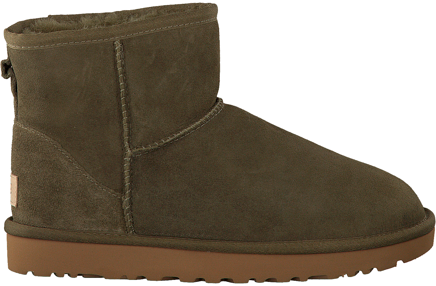 Grüne UGG Winterstiefel CLASSIC MINI II | Omoda.at