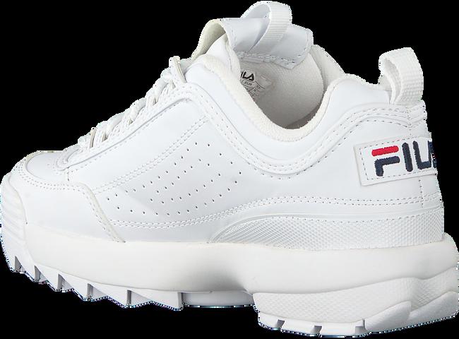 white FILA shoe DISRUPTOR S LOW WMN  - large