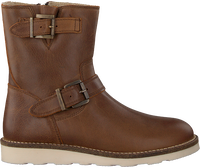 Cognacfarbene OMODA Ankle Boots O2442  - medium