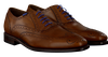 Cognacfarbene FLORIS VAN BOMMEL Business Schuhe 19470 - small