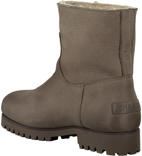 Taupe SHABBIES Ankle Boots 181020073 - large