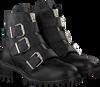 Schwarze PS POELMAN Biker Boots 5461 - small