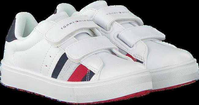 Weiße TOMMY HILFIGER Sneaker LOW CUT VELCRO SNEAKER  - large