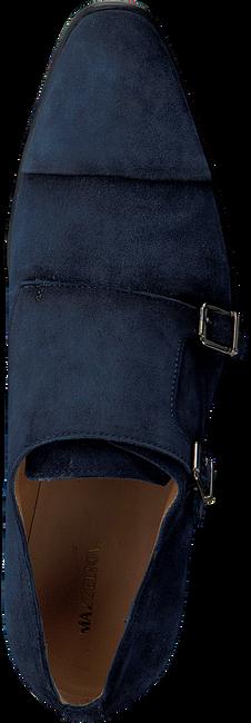 Blaue MAZZELTOV Business Schuhe 3654  - large