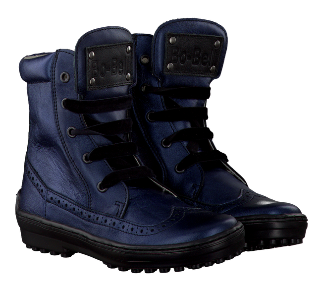 Blaue BO-BELL Ankle Boots PANTHE - large