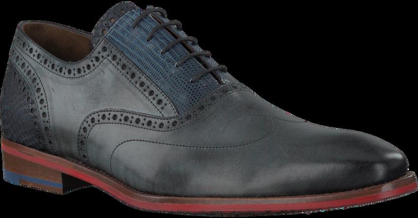 Graue FLORIS VAN BOMMEL Business Schuhe 19062 - larger