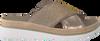 Goldfarbene GABOR Pantolette 722.2 - small