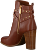 Cognacfarbene MICHAEL KORS Stiefeletten PRESTON BOOTIE  - small