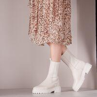 Weiße NUBIKK Chelsea Boots FAE ADAMS  - medium
