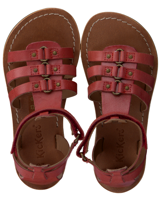 Rote KICKERS Sandalen DIXHUIT - large