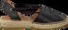 Schwarze KANNA Espadrilles KV4363 - small