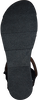 Schwarze OMODA Sandalen 740019  - small