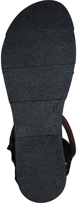 Schwarze OMODA Sandalen 740019  - large