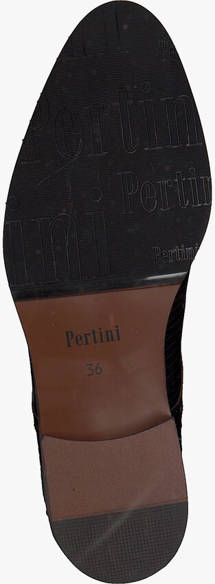 Braune PERTINI Slipper 192W15216C11  - larger