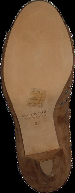 Cognacfarbene JANET & JANET Sandalen 41353 - large