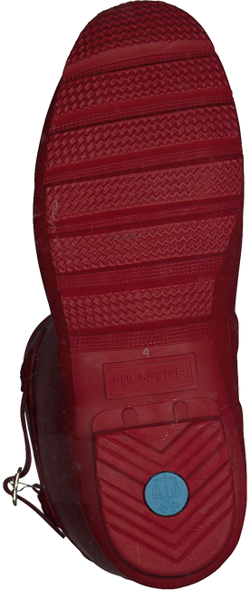Rote HUNTER Gummistiefel WOMENS ORIGINAL TALL - large