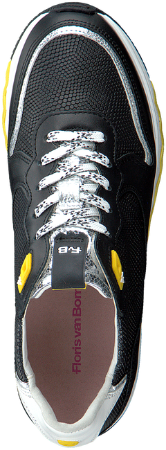 Schwarze FLORIS VAN BOMMEL Sneaker low 85302  - large