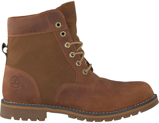 Cognacfarbene TIMBERLAND Ankle Boots LARCHMONT 6IN WP BOOT - large