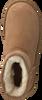 Kamelfarbene UGG Winterstiefel W CLASSIC MINI II - small