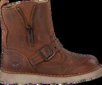 Cognacfarbene DEVELAB Ankle Boots 41049  - medium