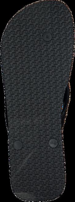 Schwarze UZURII Pantolette PYTHON - large