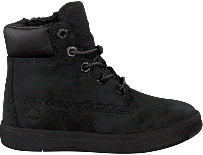 Schwarze TIMBERLAND Ankle Boots DAVIS SQUARE 6 KIDS - large