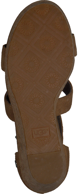 cognac UGG shoe WHITNEY  - large