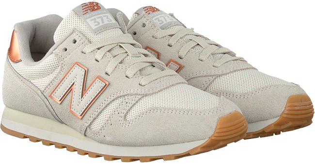 Weiße NEW BALANCE Sneaker low WL373 DAMES  - large