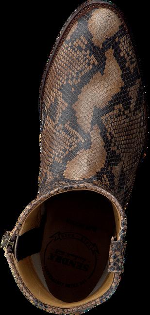 Cognacfarbene SENDRA Stiefeletten 16751  - large