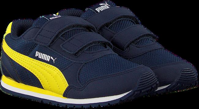 Blaue PUMA Sneaker low ST RUNNER V2 MESH J  - large