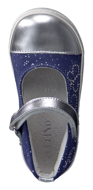 Blaue GATTINO Ballerinas G1477 - large