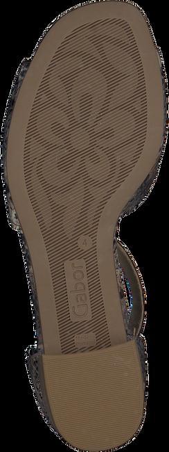 Graue GABOR Sandalen 723  - large